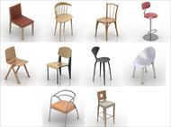 تعدادی مدل آماده صندلی برای تری دی مکس (3ds)